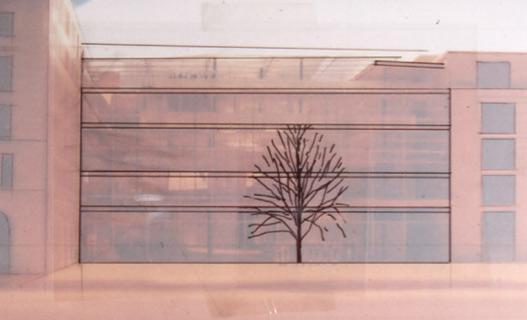 Überlagerung Baumraum/bebauter Raum